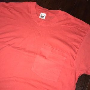 Fruit of the Loom Shirts - Vintage 90s Made in USA Fruit of the Loom Pocket T
